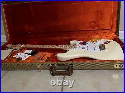 2019 Fender Eric Clapton Artist Stratocaster Olympic White USA American Strat