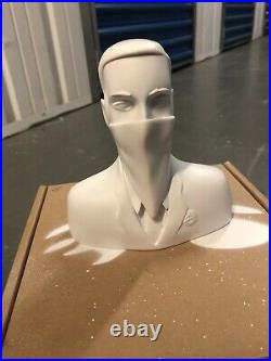 ABCNT Ivory White Resin Ivory Sculpture RareLimited Edition Of 25 Artist