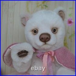 Amanda Teddy Bears polar baby gift, Realistic 8 in OOAK by Petelina Natalia