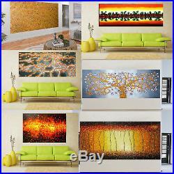 Art painting canvas oil abstract sea ocean river Fish black white Australia