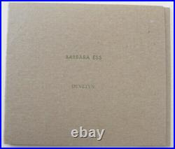 Barbara Ess Duvetyn, a signed artist's book with 4 tipper-in black & white phot
