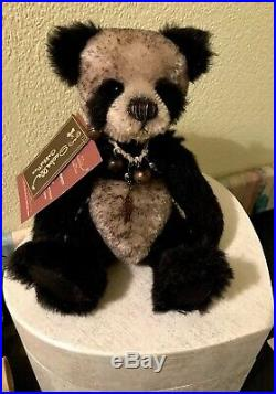 Charlie Bear Rare Katya Tags & Toto Bag Only Available To BFC Members