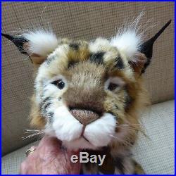 Charlie Bear'loki' Lynx, 2016, 18.5/47cms, Lifelike And Gorgeous