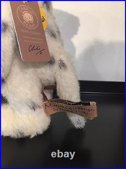 Charlie Bears 2016 Minimo Collection'Polka Dot' dog Ltd Edition no307 BNWT+bag