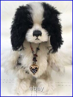 Charlie Bears Diddles Minimo Spaniel Dog Rare