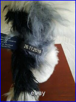 Charlie Bears Macavity, Mohair Cat, 2020. Used but in Excellent Condition