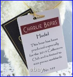 Charlie Bears Rare Isabelle Lee Mohair Lt Edition 399/400 Hudel Magical Unicorn