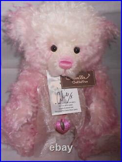 Charlie Bears SORBET Isabelle Lee Collection SIGNED LOW No. 7 RETIRED VHTF