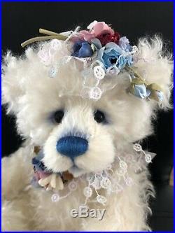 Charlie bear 2020 mohair year bear Limited Number 450 Retired Bear