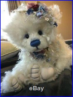 Charlie bear 2020 mohair year bear Ltd 450'SOLD OUT' pristine & rare