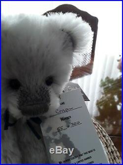 Charlie bears Mohair Crispin