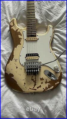Charvel Henrik Danhage Limited Signature Pro-Mod So-Cal Style 1 White Relic