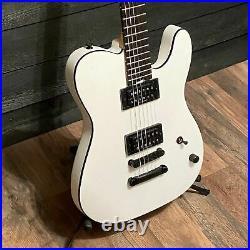 Charvel Joe Duplantier Signature PRO-MOD San Dimas Style 2 HH White Electric Gui