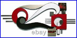 Contemporary Modern Abstract Art Wall Sculpture Avalonia Wall Decor by Alisa