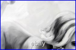 DI Capri Original Oil Painting Canvas Marilyn Monroe Portrait White Edition 17
