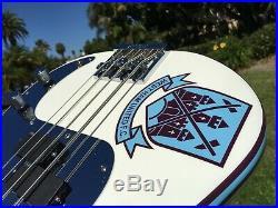 Fender Artist Series Steve Harris Iron Maiden Signature White P Bass Precision