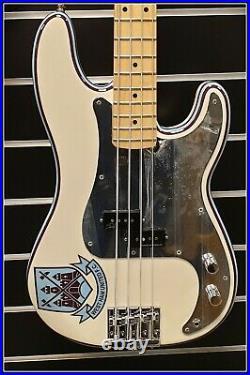 Fender Steve Harris Precision Bass Olympic White, Signature