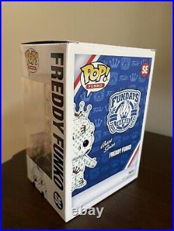 Funko Freddy Artist Series White 2021 Fundays Funkon Box Of Fun 1/2000