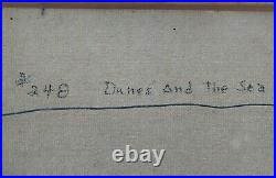 Harold Durand White(1908-1999) Listed Cape Cod Mass Seascape Artist Oil Painting