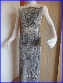 Issey Miyake Pleats Please Guest Artist Series Tim Hawkinson One Piece Dress F
