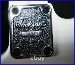 Jackson USA Signature Adrian Smith San Dimas Guitar Snow White