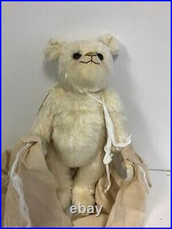MINT Happy Tymes Bear BOBBITY BOO 16 Fully Jointed Mohair RARE 2007 Bev White