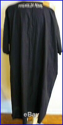 NEW With TAG MAGNOLIA PEARL COTTON POPLIN ON A JOURNEY ARTIST SMOCK DRESS MIDNIGHT
