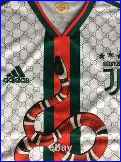 NEW withtags Gucci Ronaldo Adidas soccer jersey men's M Instagram concept artist