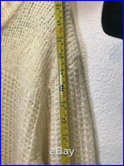 Nwt Coach Mohair Oversized Sweater Baseman Artist Medium-Xl