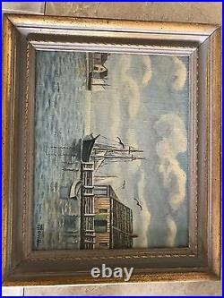 Original Signed Oil on Canvas by Harry Hambro Howe, White Mountain Artist