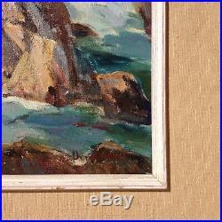 Orrin A. White 1883-1969 Monterey Scene California Plein Air Artist Signed