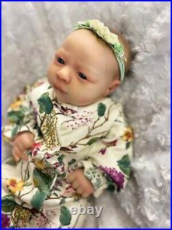 Reborn Baby Art Doll Baby Girl Authentic Reborn Uk Artist Alma Awake