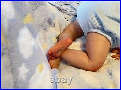 Reborn Baby August By Dawn Mcleod Painted By Genuine Uk Artist
