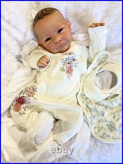 Reborn Baby Girl Art Doll Ava Sculpt Cassie Brace Authentic Reborn Uk Artist
