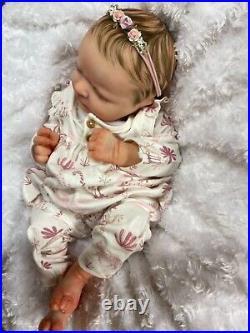 Reborn Baby Girl Art Doll From Marin Sculpt Heavy Authentic Reborn Uk Artist