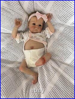 Tink Reborn Baby By Bonnie Brown Painted By Genuine Uk Artist