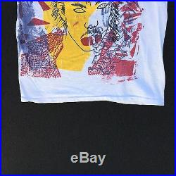 True Vintage PRINCE T-Shirt L punk/purple rain/target video/sf HOLY GRAIL artist